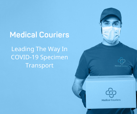 COVID-19 Specimen Delivery in California