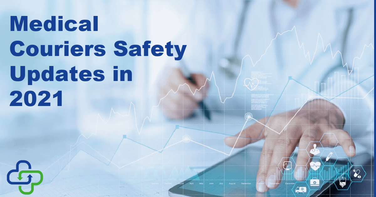 medical couriers safety